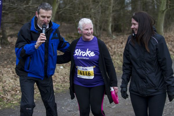 Resolution Run Dundee, Dundee, Tayside, UK. 25,02, 2018. Pic shows: Runners of all ages and abilities took part in the Stroke Association's 2018 Dundee Resolution Run.  Credit: Ian Jacobs